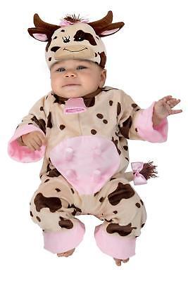 Premium Sleepy Brown Cow Child Boys Girls Infant Baby Newborn Costume - Cow Costume Baby