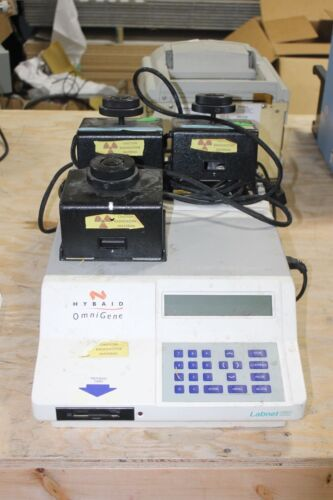 HYBAID OMNIGENE THERMAL CYCLER WORKING