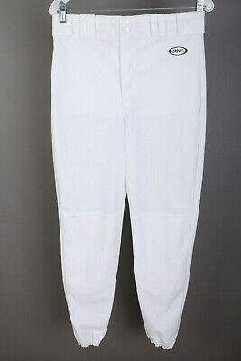BIKE Athletic 4114 Baseball Softball Pants White w/ Black Pinstripe Mens Medium Baseball & Softball Clothing, Shoes & Accessories