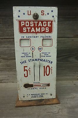 Vintage USPS Postage Stamp Coin Operated Machine 5 & 10 Cent - The Stampmaster
