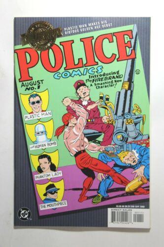 MILLENNIUM EDITION: POLICE COMICS #1 - 1ST APP. OF PLASTIC MAN - 2000 DC COMICS