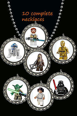 Star Wars Lego Party Supplies (star wars lego party favors ball chain lot of 10 necklaces necklace)