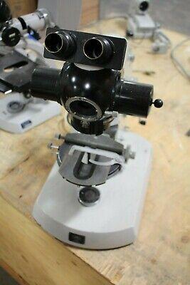 Carl Zeiss 64356 Microscope W Binocular