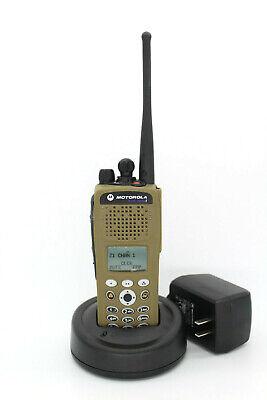 MOTOROLA XTS2500 MILITARY CAYOTE SAND UHF R1 380-470Mhz ASTRO P25 Radio (FPP)