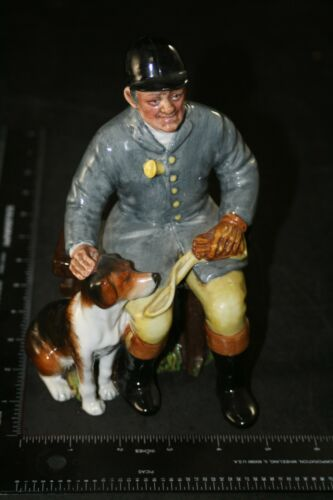 "ROYAL DOULTON FIGURINE THE HUNTSMAN HN2492 1973 MINT 8"" COLLECTIBLE FOX HOUND"