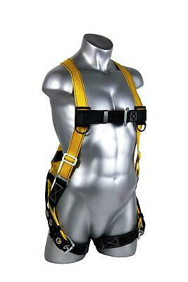 Construction Harness -guardian Fall Protection 1703 Velocity Economy Harness Huv