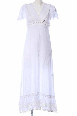 HIPPY CHICK Hippiekleid Damen Gr. DE 36 weiß Kleid Dress Hippie Dress