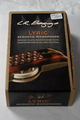 New LR Baggs Lyric Acoustic Guitar Microphone Pickup
