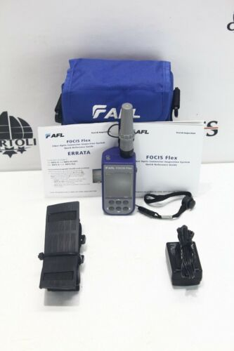 AFL FOCIS Flex 2 Fiber Optics Connector Inspection System Flex2