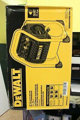 Dewalt 2.5 Gal. Portable Electric Heavy Duty 200 Psi Quiet Compressor Dwfp55130