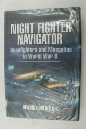 WW2 British RAF Night Fighter Navigator Beaufighters & Mosquitos Reference Book