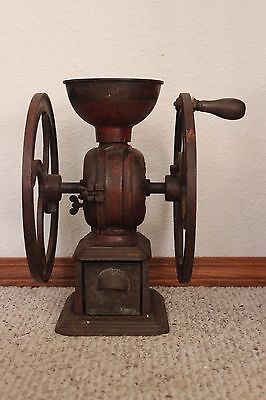 Antique Swift No. 13 Double Wheeled Coffee Grinder/Mill