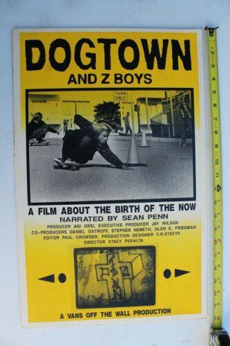 Dogtown and Z-Boys Jay Adams Zephyr Yellow Fade OG Vintage Skateboarding POSTER
