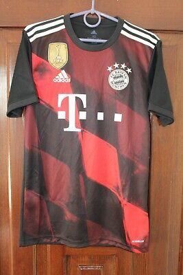 Bayern Munich 2020 2021 Adidas Third Soccer Shirt Jersey Size XS image