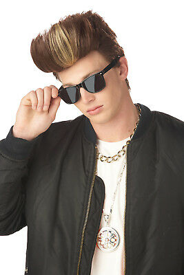 90's Vanilla Ice MC Poser Adult Men Costume Wig](Vanilla Ice Wig)