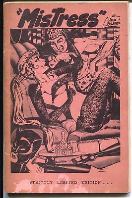 Mistress 1958- Burmel-Gene Bilbrew art-GGA-spicy fashions-bondage-G