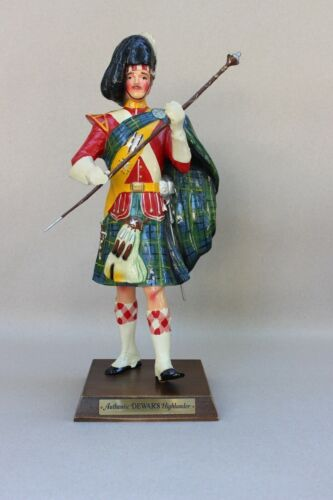 "Dewars Scotch Whiskey 20"" Marching Scotsman - ""Authentic Dewars Highlander"""