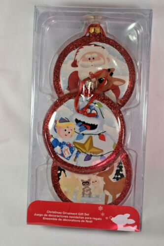 KURT ADLER RUDOLPH THE RED NOSED REINDEER ORNAMENTS COMES IN ORIGINAL BOX