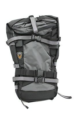 VenTerra Men's Crunchy 35 Snowboard Backpack, Grey, Medium