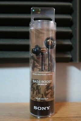 Sony MDR-ED12LP In-ear Headphones Gold Bass Boost