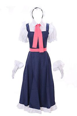 MN-25 Tohru Kobayashi's Dragon Maid Kleid Set Anime Manga Cosplay Kleid - Anime Maid Cosplay Kostüm