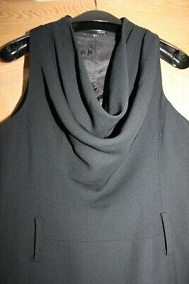 Petite Cowl Neck (Next Petite Bodycon Cowl Neck Sleeveless Black Dress Size UK 10)