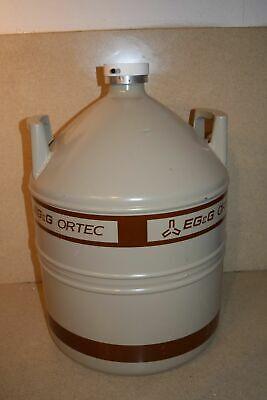 Egg Ortec Liquid Nitrogen Tank Ln2 Dewar - 30 Liter W4