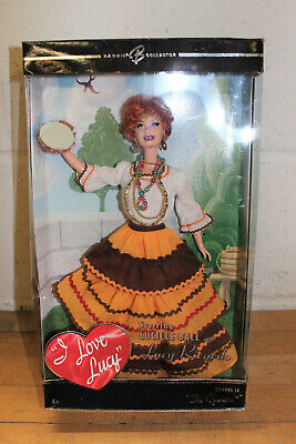 "NOS 2005 Mattel I Love Lucy ""The Operetta"" Episode 38 Barbie Doll Collection"