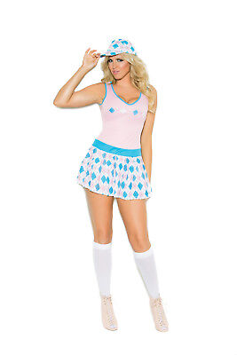Sexy 2PC Golf Tease Women's Halloween Costume by EM. Plus Size Too!