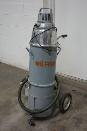 Used Nilfisk GSJF Cleanroom Style Canister Hepa Vacuum Cleaner 0010180