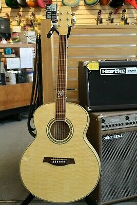 Ibanez Jumbo Acoustic ew20qmbbd1201 Quilted Maple