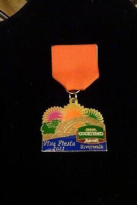 2011 San Antonio Courtyard Marriott Riverwalk Fiesta Medal