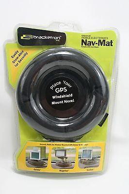 Bracketron UFM-100BL Nav-Mat GPS Friction Dash Pad Standard Packaging New  100 Bl Gps
