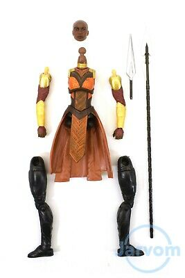 "Marvel Legends 6"" inch Build a Figure Okoye Parts Individual Pieces"
