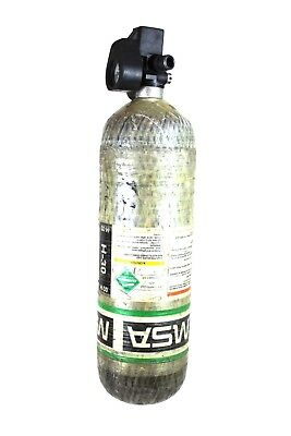 4500psi Carbon Scba Air Pack Bottle Cylinder Tank 2006 Mfg Msa Scott Firefighter
