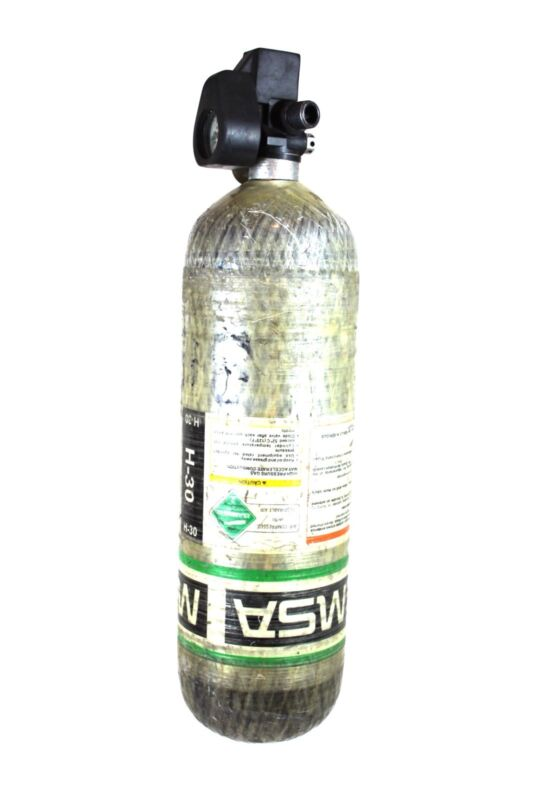 4500psi Carbon SCBA Air Pack Bottle Cylinder Tank 2006 MFG MSA SCOTT Firefighter