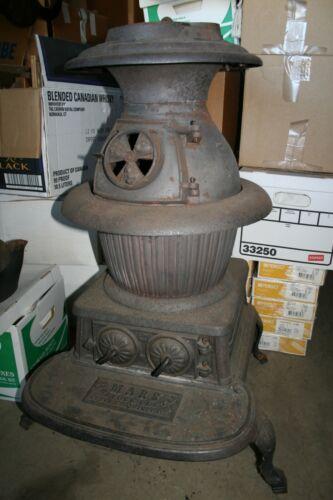 Cast Iron Pot Belly Railroad - Parlor Stove