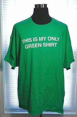 St. Patricks Day 3 XL T-SHIRT