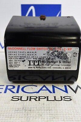 Itt Mcdonnell Flow Switch Fs4-3-rp Max 150 Psi Max 300f