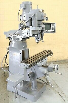 3 Hp Chevalier Vertical Mill With Cnc Proto Trak Controls Yoder 67709