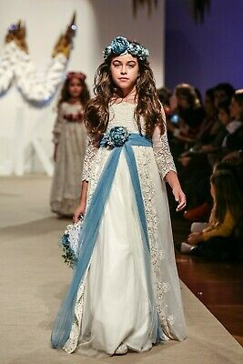 Mon Air Girl's  FIRST COMMUNION Dress Spain Designer 2019 Collection.
