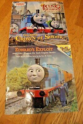 Lot 2 Thomas the Tank Engine Books Thomas & Friends Softcover 1993 2013 Trains