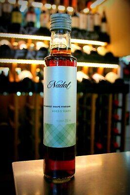 - 12 bottles of Cava Nadal White Wine Vinegar 5 years Aged in French Oak - 250 ml