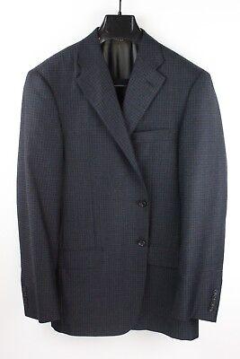 Worsted Wool Blazer - HICKEY FREEMAN