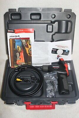 Ridgid Micro Ca-25 Inspection Camera With Case