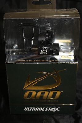 QAD Ultra Rest HDX Black Drop Away Arrow Rest Right Hand