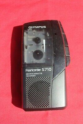 Olympus Pearlcorder S710 Microcassette Recorder 5 Pk Sony Cassettes