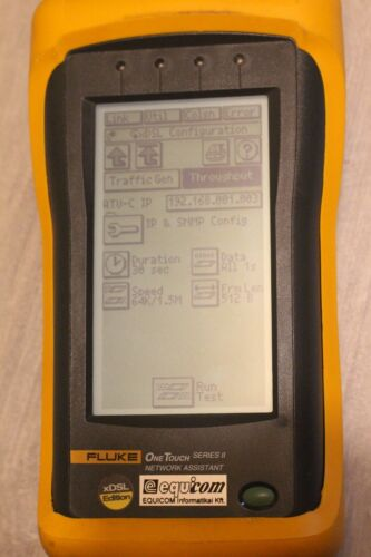 Fluke Networks One Touch Series II 10/100 Pro Network Assistant