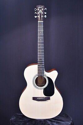Bristol BM-16CE Cutaway Acoustic-Electric Guitar