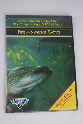 Pike And Muskie Tactics - North American Fishing Club DVD, FREE 3 DAY SHIPPING